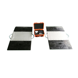 Portable Axle Scale Weighing Pad Layar Sentuh